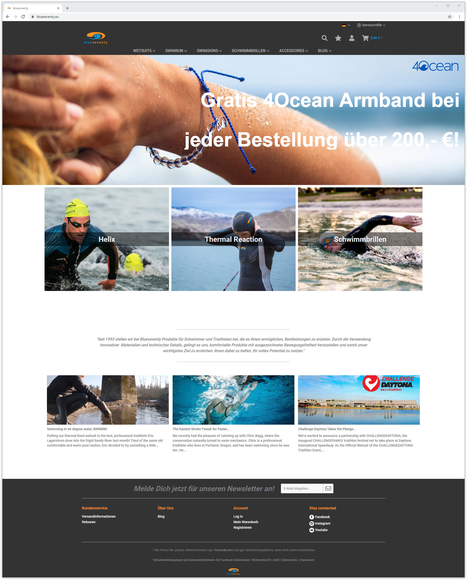 perfacts case study blueseventy Shopware Shop