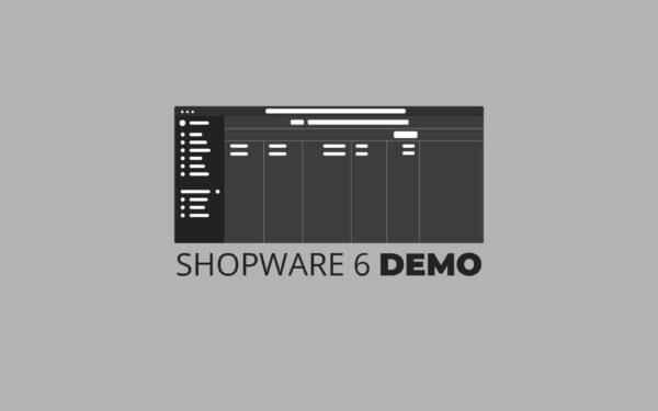 Shopware 6 als Demo testen